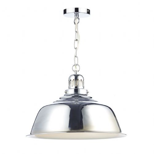 Nantucket 1 Light Pendant Polished Chrome (Class 2 Double Insulated) BXNAN0150-17